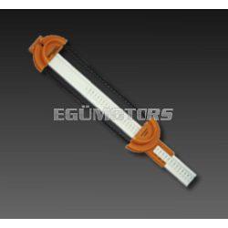 Ékszíj hosszúság mérő eszköz