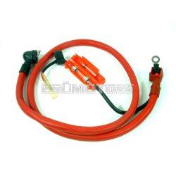 Akkumulátor vezeték, indítókábel, 80 cm