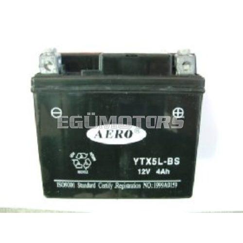 LP zselés akkumlátor YTX5L-BS