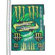 Monster matricaszett, A4-es