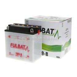 Fulbat savas akkumulátor YB9-B + sav