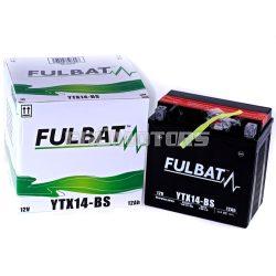 Fulbat zselés akkumlátor YTX14-BS