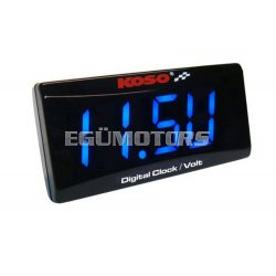 Koso Mini LED feszültségmérő / digitális óra