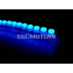 Koso LEDsor, szilikonágyban, kék