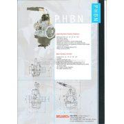 DellOrto PHBN 17.5 karburátor, Minarelli