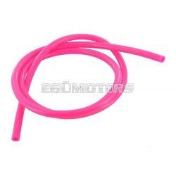 Motoforce benzincső, 5x8mm, Pink