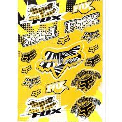 Fox matrica szett, sárga