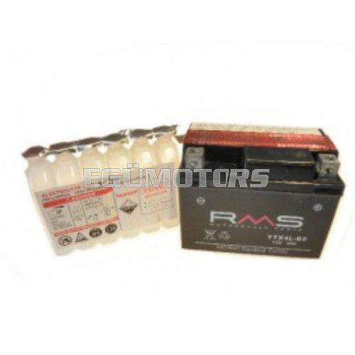 RMS zselés akkumulátor, YTX4L-BS