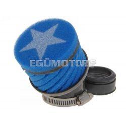 Stage6 csavart légszűrő, Kék, 44 mm