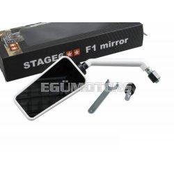 Stage6 F1 tükör, bal, fehér, M10