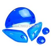 Kék index és lámpabúra szett, Aerox 99-ig