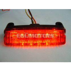Univerzális hátsó lámpa, STR, Piros