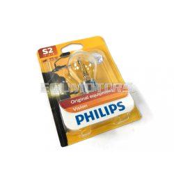 Fényszóró izzó BA20D, 35/35W  Philips