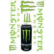 Monster matrica szett zöld