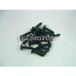 Motoforce idomcsavar, 4.8x13, fekete
