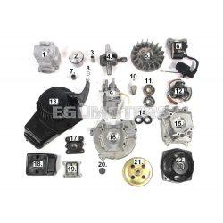Pocket Bike Karburátor (9.számú)