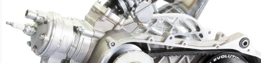 A robogó motorja, motorblokk