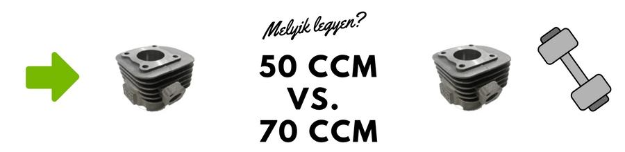 50 ccm vagy 70 ccm robogó henger?