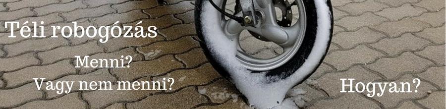 Robogózás télen: tippek, tennivalók