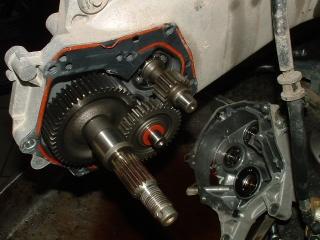 Honda X8R végáttétel csere
