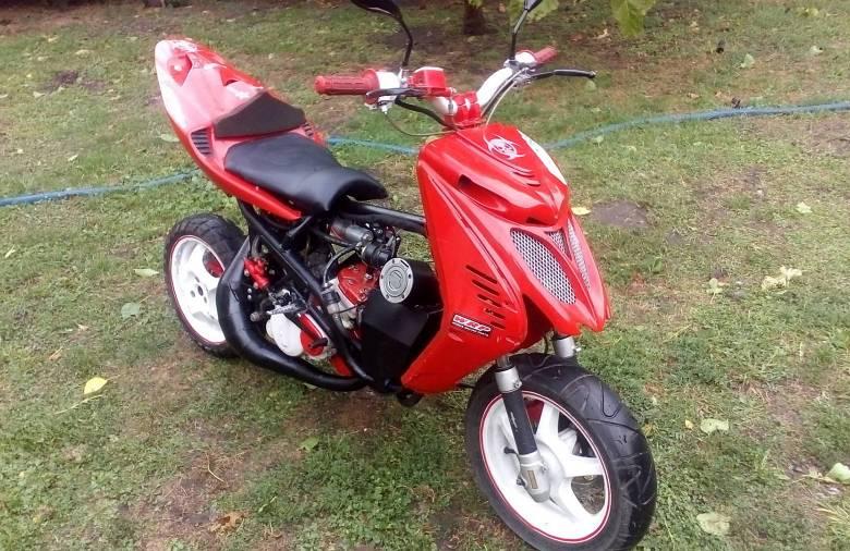 Mirox - Yamaha Aerox robogó vagy Cagiva Mito motor? Mindkettő!