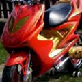 Yamaha Aerox robogó tuningja, alkatrészei