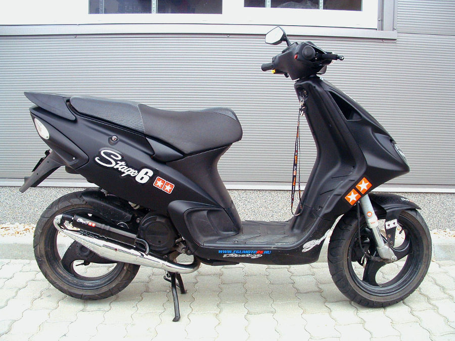 "Piaggio NRG MC2 tuning ""level 2"""