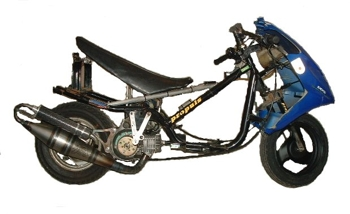 Yamaha Jog dragster - Egümotors